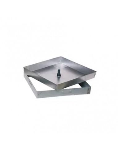Registro Galvanizado Rellenable H:5cm