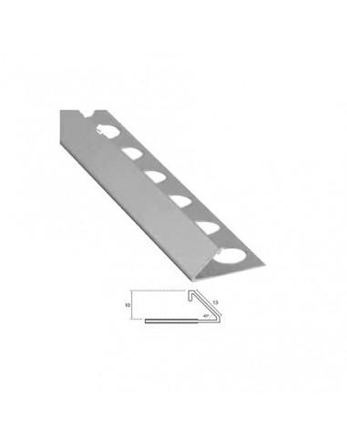Perfil Aluminio Bisel 45º